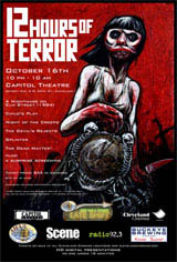 12 Hours of Terror Movie Poster