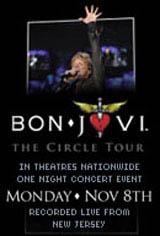 Bon Jovi: The Circle Tour Movie Poster