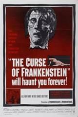 The Curse of Frankenstein Movie Poster