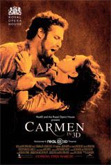 Carmen in 3D Movie Poster