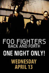 Foo Fighters: Back and Forth Movie Poster