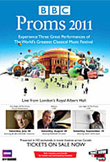Last Night Of The Proms Live - BBC Proms 2011 Movie Poster