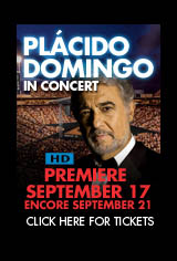 Plácido Domingo in Concert Movie Poster