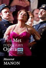 The Metropolitan Opera: Manon Movie Poster