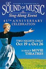 The Sound of Music Sing-Along Event Poster