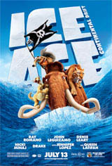 Ice Age: Continental Drift Movie Poster
