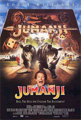 Jumanji (1995) Movie Poster