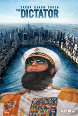 The Dictator: Super Bowl Spot Movie Poster