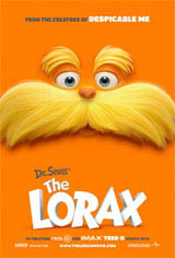 Dr. Seuss' The Lorax: Super Bowl Spot Movie Poster