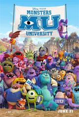 Monsters University  Movie Poster