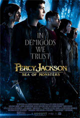Percy Jackson: Sea of Monsters Movie Poster