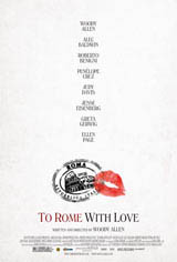 To Rome With Love Movie Poster