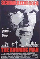 The Running Man Movie Poster