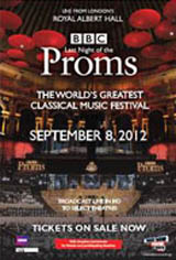 Last Night of the Proms Live - BBC Proms 2012 Movie Poster