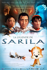 La légende de Sarila 3D Movie Poster