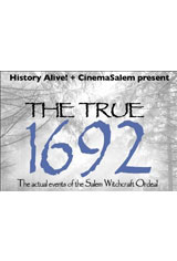 The True 1692 in 3D Poster