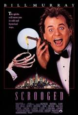 Scrooged Movie Poster
