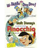Pinocchio (1940) Movie Poster Movie Poster