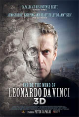Inside the Mind of Leonardo in 3D Movie Poster