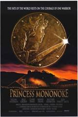 Princess Mononoke (Dubbed) Movie Poster