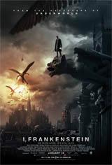 I, Frankenstein 3D Movie Poster