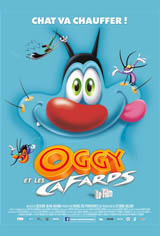 Oggy and the Cockroaches Movie Poster